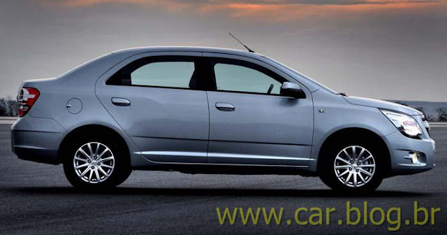 Novo Chevrolet Cobalt 2012 - lateral