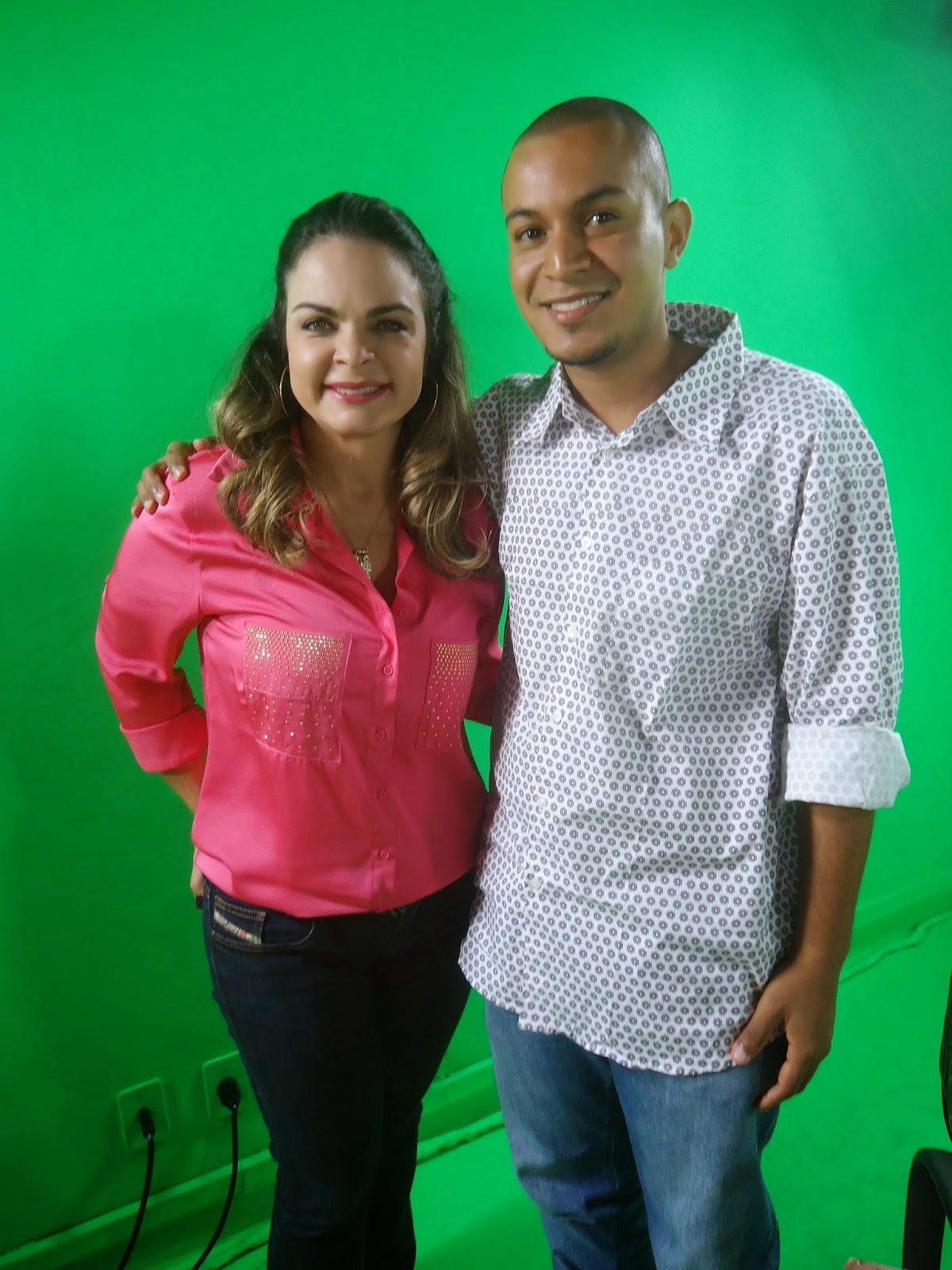 Hugo Paz e Liliane Ventura