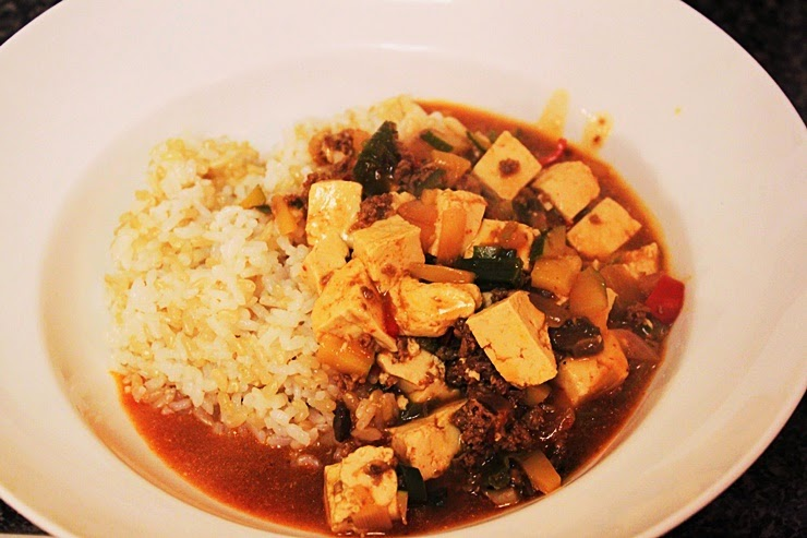 Mapo tofu (mapo doufu: 마파두부)(Eng) - Ms.J's Green Table
