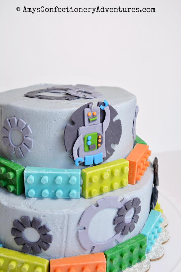 Как сделать торт робота 554