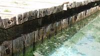 Represa da praia fluvial