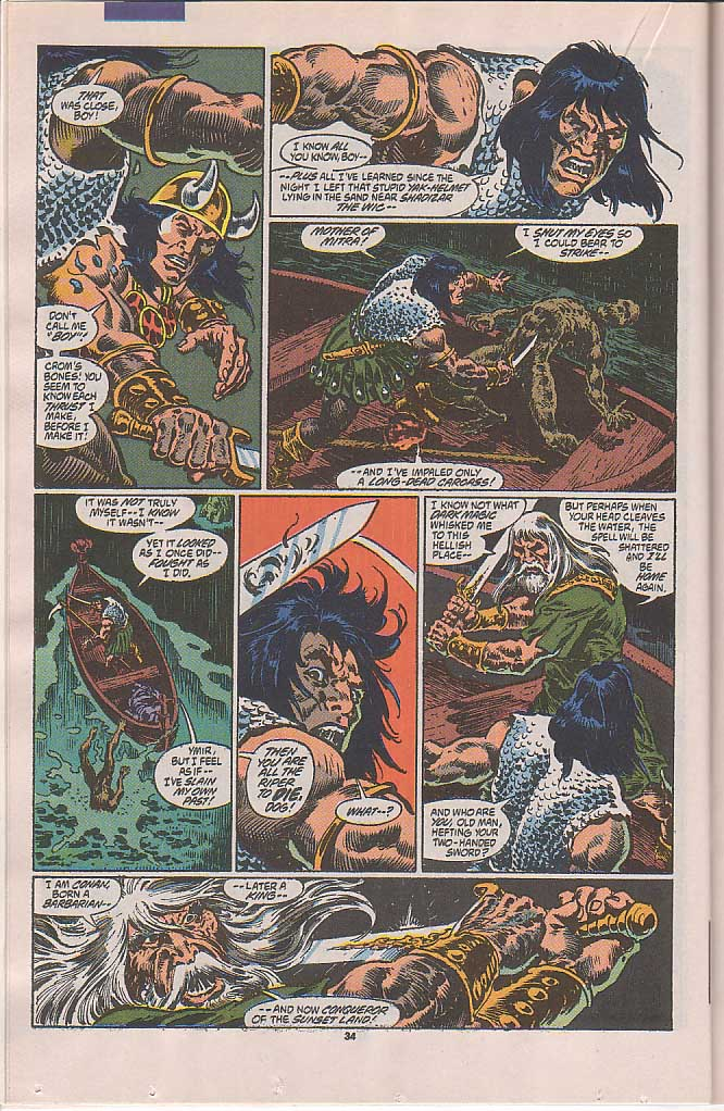 Conan the Barbarian (1970) Issue #250 #262 - English 28