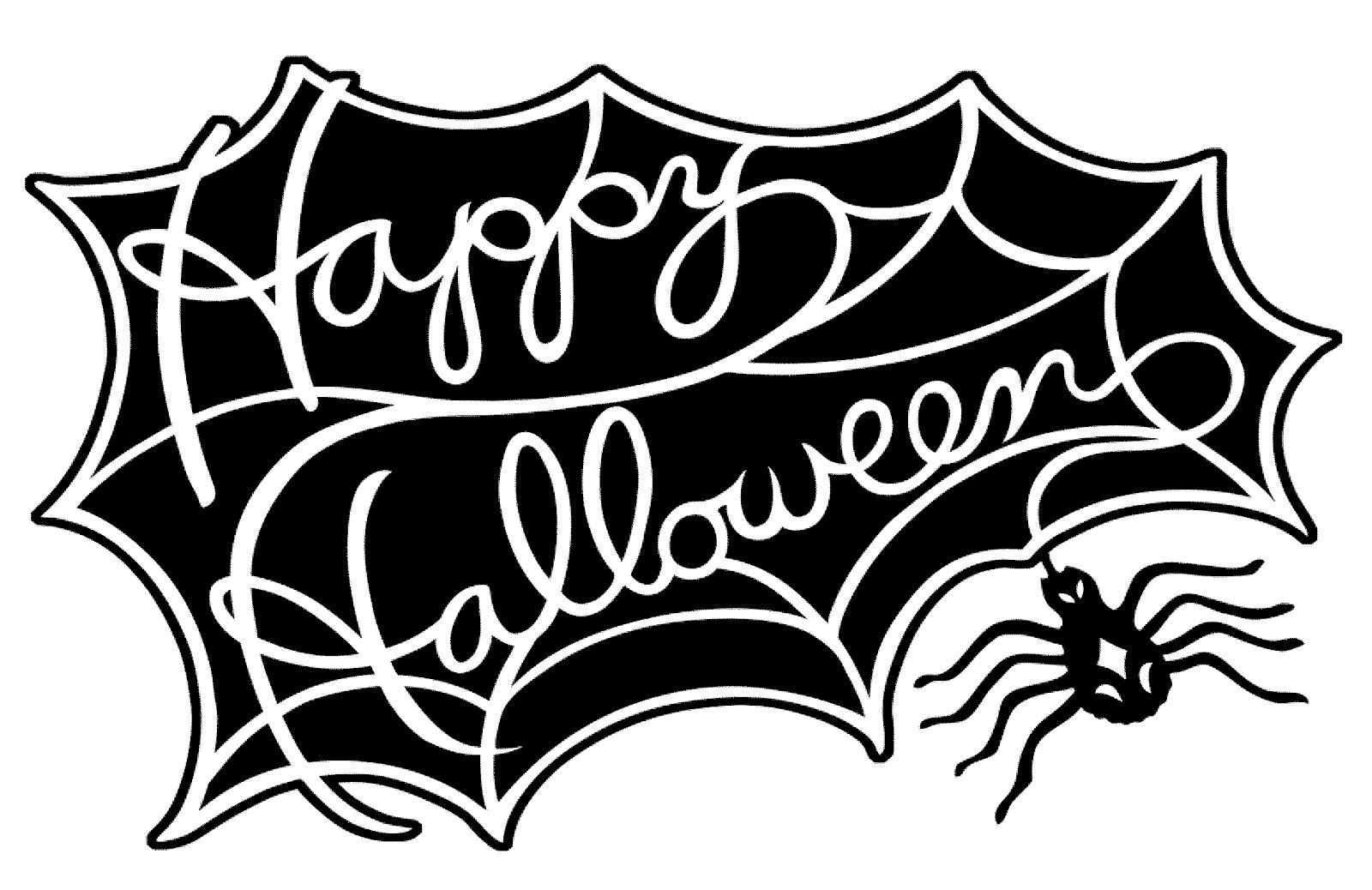picture relating to Free Printable Halloween Silhouettes known as Typical Halloween Silhouettes Style Artwork Generate