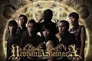 Nevhania Shamara Photo Wallpaper Artwork Band Symphonic Gothic Metal Depok Bogor Indonesia