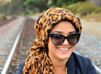 Modest fashion blogger for Mode-sty Reem About That Wrap