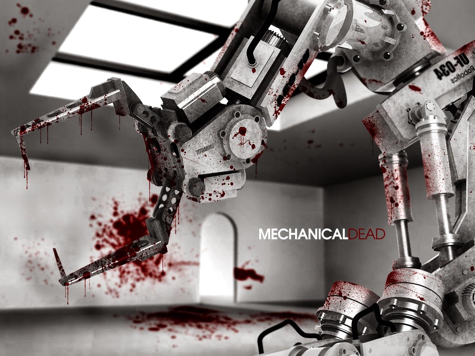 Abstract Killer machine hd wallpaper