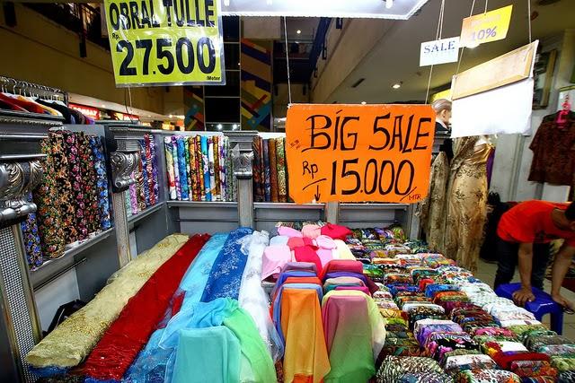 Pasar Murah Untuk Beli Kain Di Jakarta, Tangerang dan ...