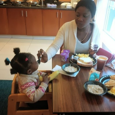 mercy johnson in america