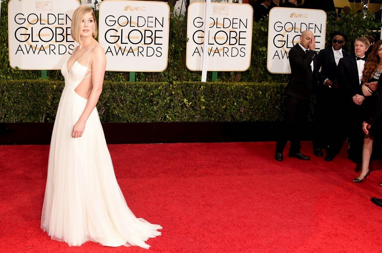Rosamund Pike – 2015 Golden Globe Awards in Beverly Hills
