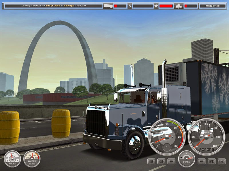18 wheels of steel american long haul  free full game