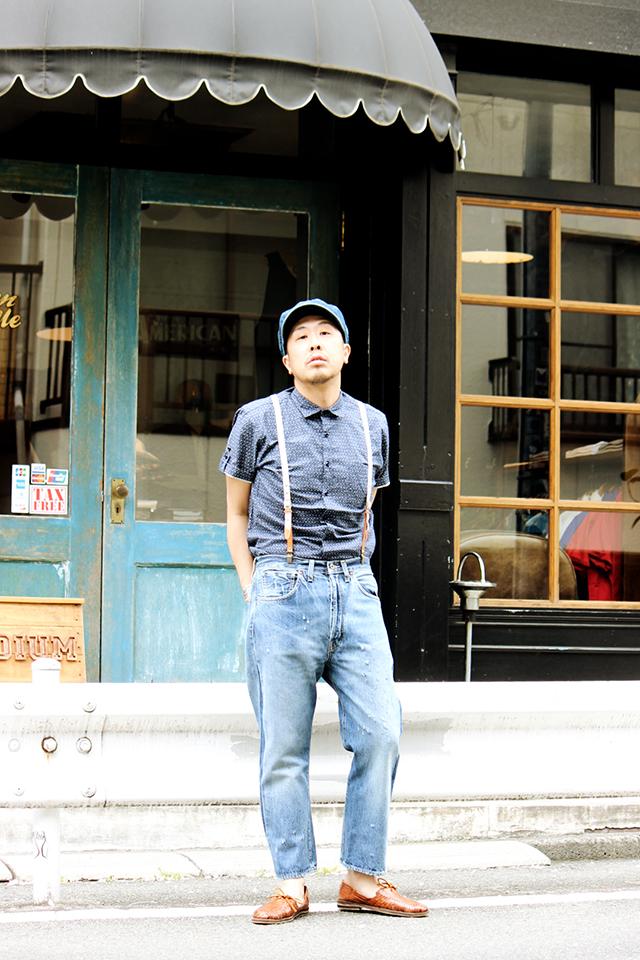 "Expansion ""Lin Wood Shirts"" size M 21,060yen"