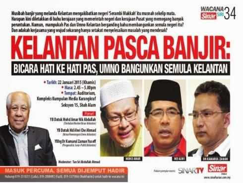Najib Tak Usah Bawa Semua Benda Ke Kelantan Rakyat Negeri Lain Nak Makan Juga