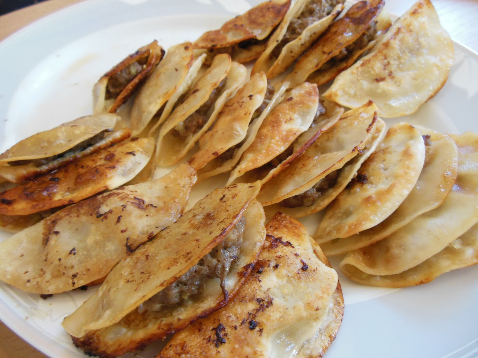 Glücksmomente in der Küche: Rezept: Gyoza; chinesische Teigtaschen