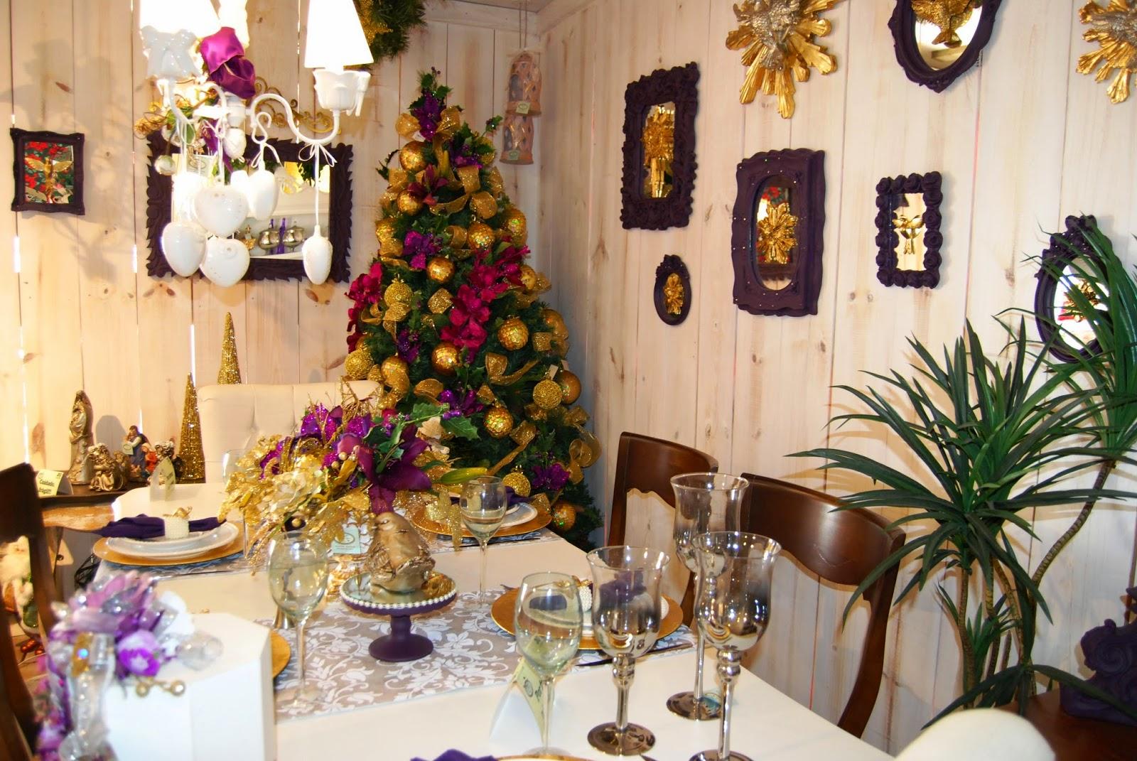 NOS DETALHES: Vista a Sala de Jantar para o Natal! #A0702B 1600x1071