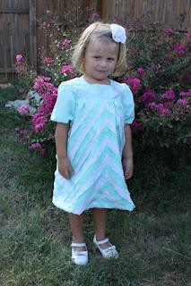 Bais Tape Cheveron Dragonfly Dress