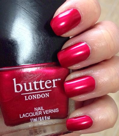 butter london knees up nail swatch