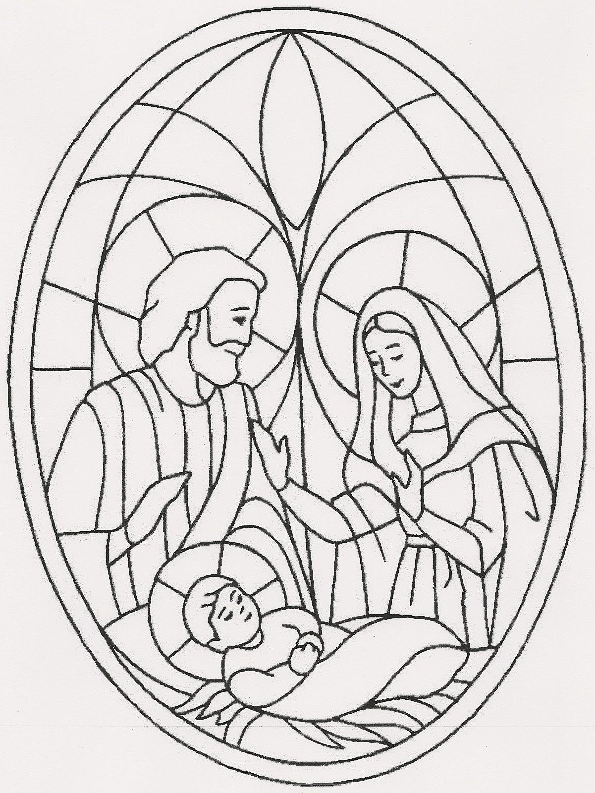 Lujoso Página Para Colorear De Natividad Colección - Dibujos Para ...