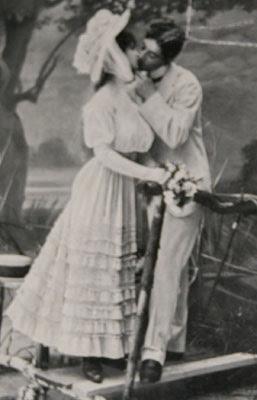 Romantisk postkort