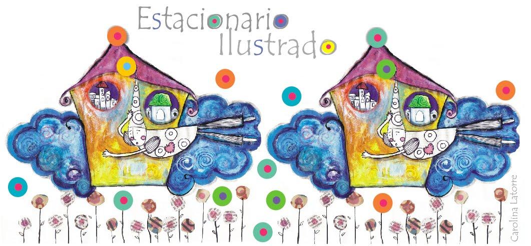 estacionario ilustrado