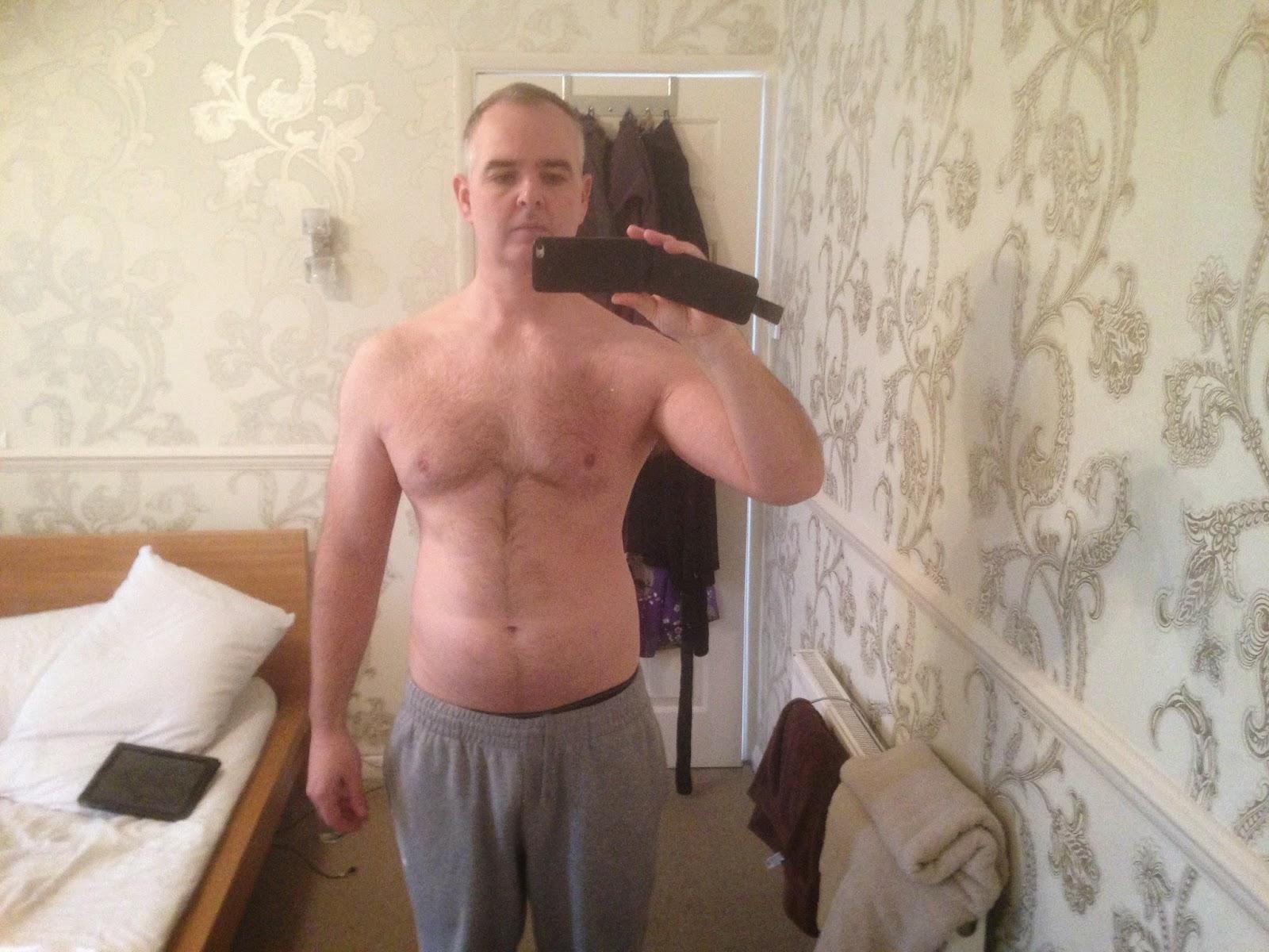 Body transformation week 2
