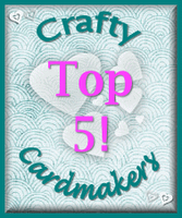 Crafty Cardmakers Fabric Challenge #41
