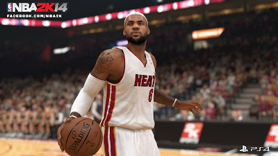 NBA 2K14 Next-Gen LeBron James