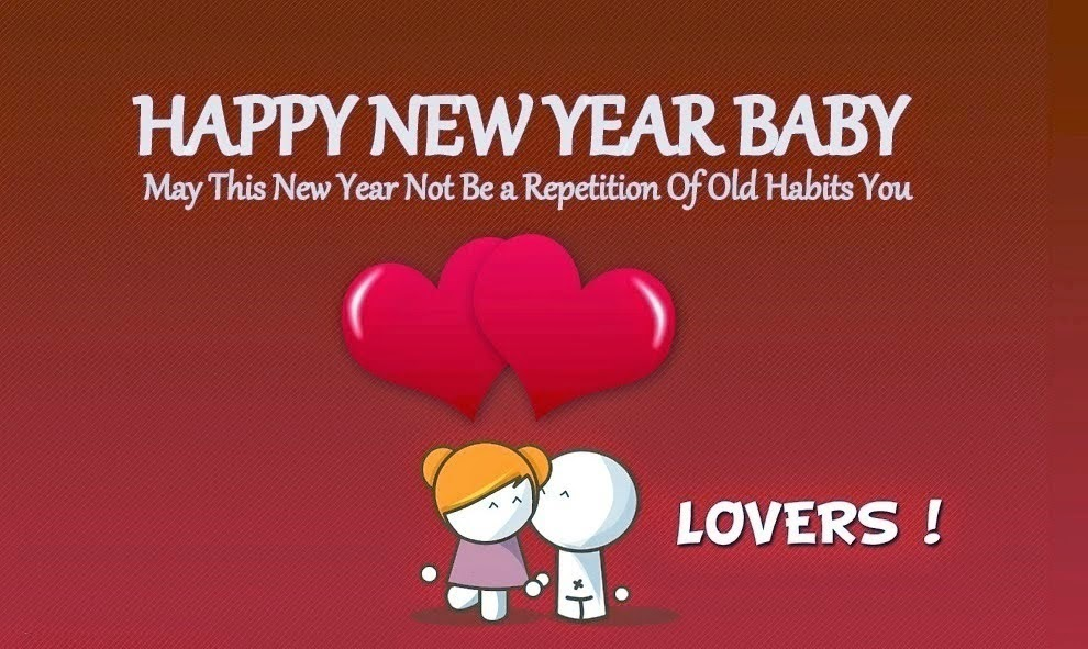 Happy new year 2015 Sms for Boyfriends