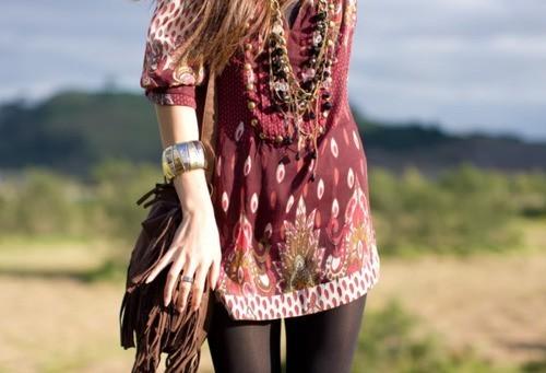 Belle 39 s diary bohemian style - Moda boho chic ...