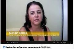 VÍDEO – ENTREVISTA SOBRE OS PREJUÍZOS DO PCCS 2008 PARA OS ASSISTENTES ADMINISTRATIVOS DA ECT