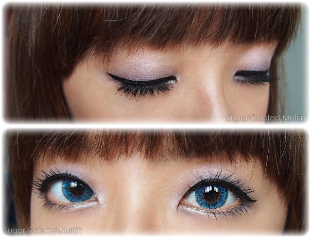 Eye makeup with Estee Lauder Pure Color EyeShadow