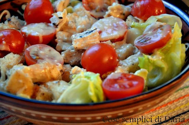 Салат с курочкой