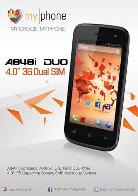 MyPhone A848i