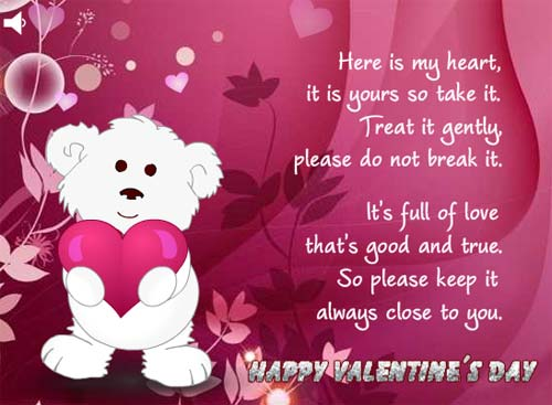 40 Romantic Happy Valentines Day Greeting Card Sayings – Valentine Day Greetings Card