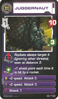 Juggernaut from Space Alert board game
