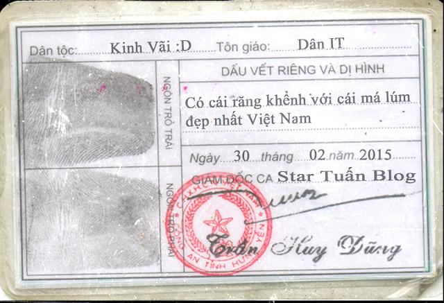 Share Tổng hợp file PSD CMND Chuẩn để fake