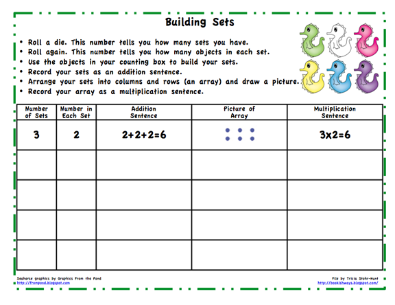 Math Unit 6 Arrays And Multiplication - Lessons - Tes Teach