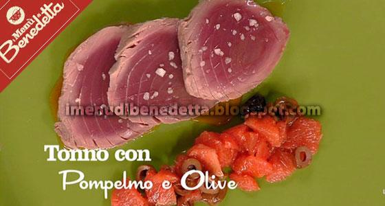 Tonno con Pompelmo e Olive di Benedetta Parodi