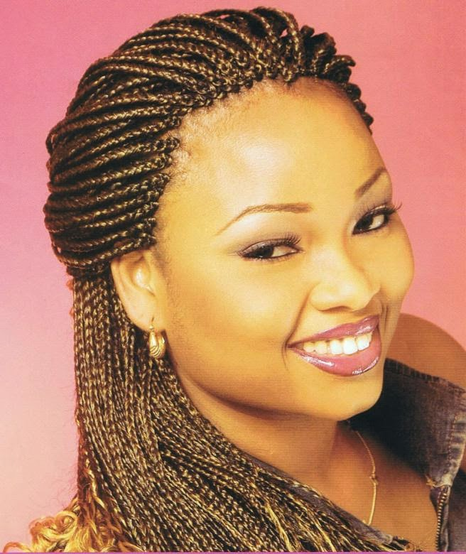 Simple Braided Hairstyles For Black Women 2013