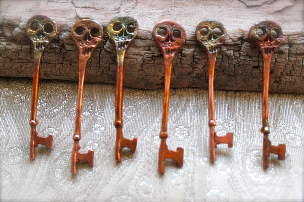 making these six skeleton