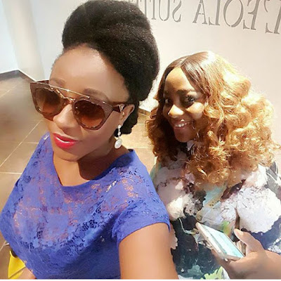 Actress Ini Edo Shines In Casual Outfit (Photo)