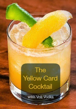 My Scraps | Voli Vodka Yellow Card