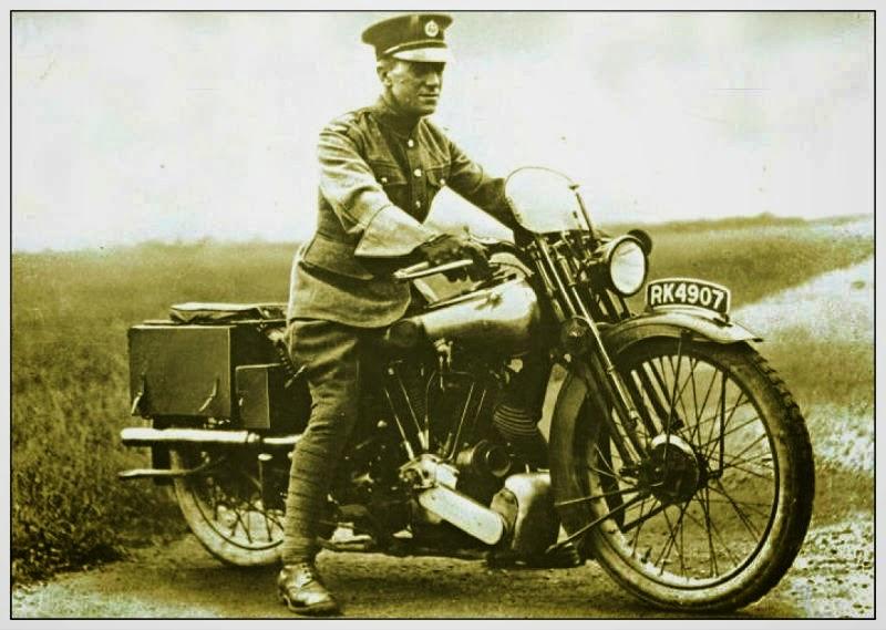 Lawrence da Arábia - motociclista até ao fim com Broug Superior