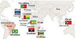 Língua Portuguesa no mundo: