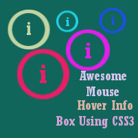 Awesome Info Box CSS3