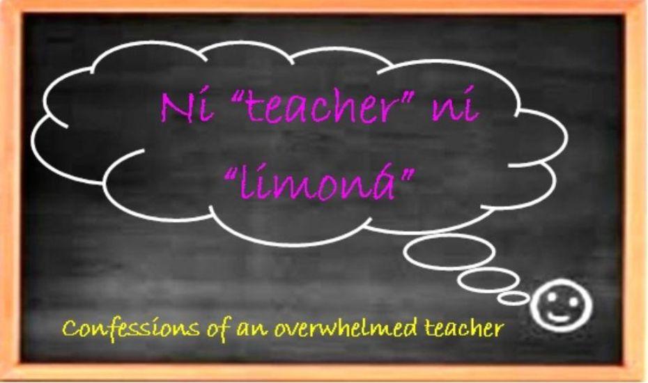"""Ni """"teacher"""" ni """"limoná"""""""