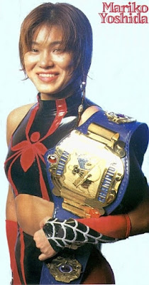 Mariko Yoshida - Japanese Women Wrestling