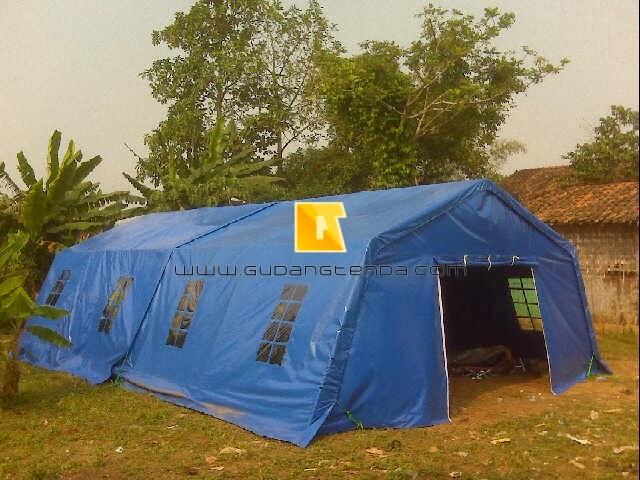 Jual tenda pengungsian, Jual tenda Barak tentara, Jual tenda peleton