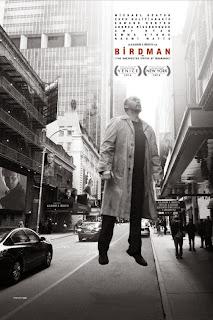 Birdman, Movie Poster, starring Michael Keaton, Edward Norton, Emma Stone, Naomi Watts, Zach Galifianakis, Alejandro Gonzalez Inarritu