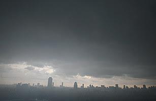 Hujan lebat di Bangkok