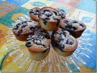 blueberry and lemon friands